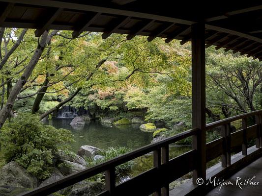 Garten Kokoen in Himeji, Japan