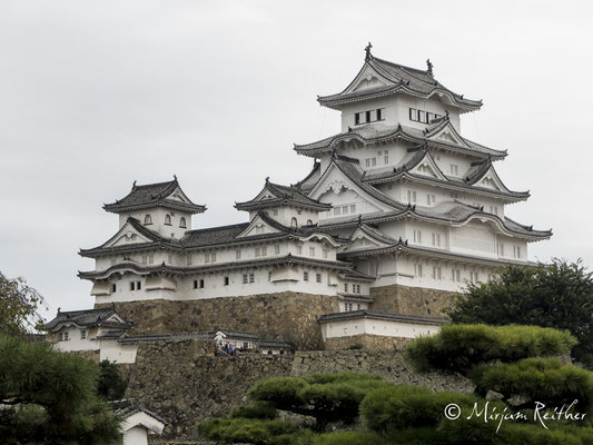 Himeji Castle, auch weißer Reiher genannt, Japan