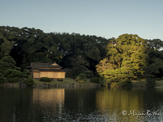Hamarikyu Garten in Tokio, Japan