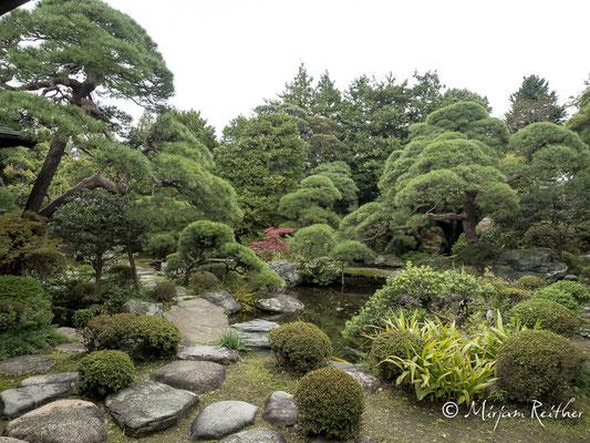 Yamamoto-tei Garten in Tokio, Japan