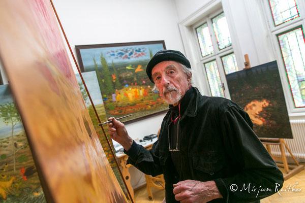 Arik Brauer, Maler