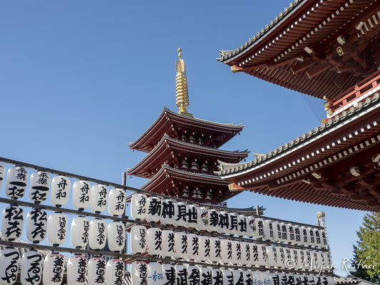 Sensoji Tempel in Tokio, Japan