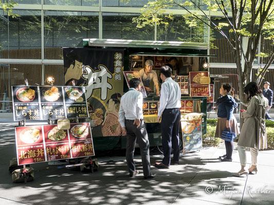 Strassenszene in Tokio, Japan