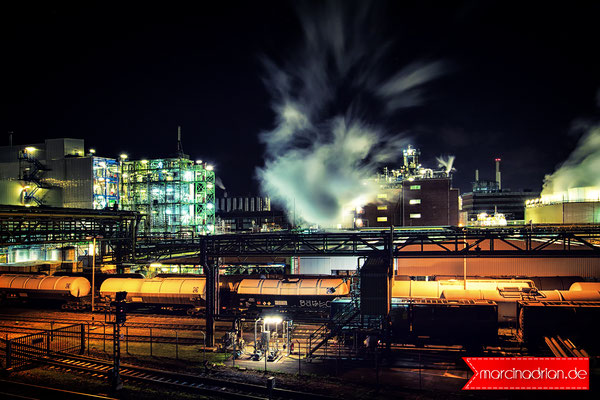 LyondellBasell Industries Basell Polyolefine GmbH Evonik Industries AG in Wesseling Evonik Degussa GmbH Wesseling Shell Rheinland Raffinerie Local Guide #Local_Guide #LocalGuides Marcin Adrian Marcin_Adrian #MarcinAdrian Canon, Long exposure, NRW