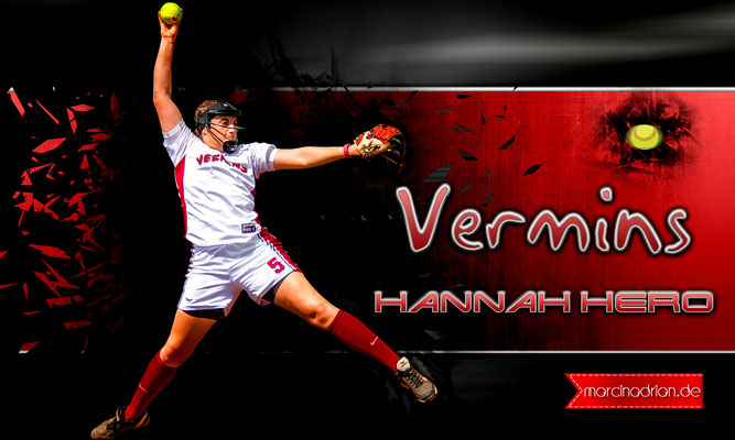 Hannah Hero, #Hannah #Hero #Hannah_Hero, Wesselin Vermins Baseball & Softball, MLB, DBV, Marcin Adrian, Marcin_Adrian, www.marcinadrian.de, 50389 Wesseling, werbekurier, Wesseling #Vermins #Baseball & #Softball
