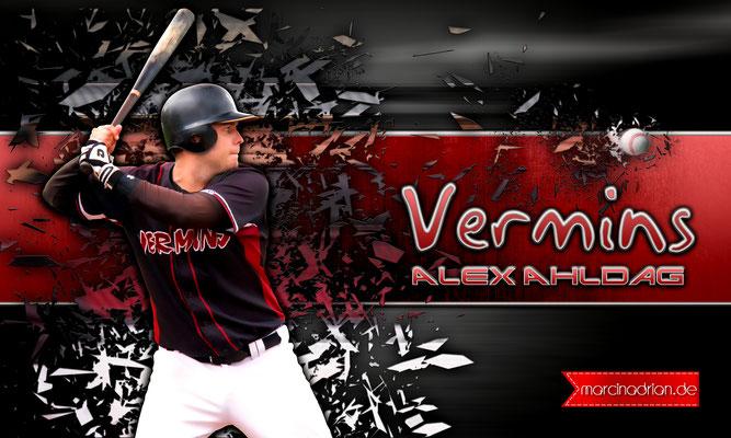 Alex Ahldag, #Alex #Ahldag #Alex_Ahldag Wesselin Vermins Baseball & Softball, MLB, DBV, Marcin Adrian, Marcin_Adrian, www.marcinadrian.de, 50389 Wesseling, werbekurier, Wesseling #Vermins #Baseball & #Softbal
