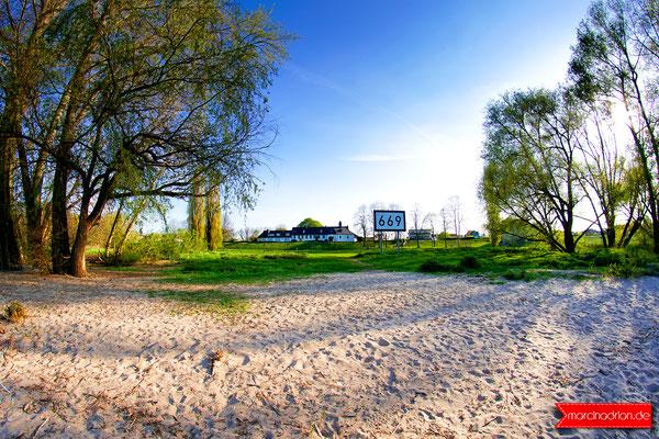 Sioniterhof mit Kapelle in Wesseling, Rheinkilometer 669 #meinwesseling, Fotograf Wesseling © Marcin_Adrian https://www.marcinadrian.de