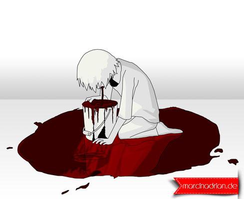 Depression, depressiv, Stress, kotzen, speien, Burnout, burn out, Angst, unglücklich, gestresst, psychiatrisch, Tod, Traurigkeit, traurig, müde, Linderung, Migräne, kopfschmerz, deprimiert, spannung, emotion, böse, Marcin Adrian www.marcinadrian.de