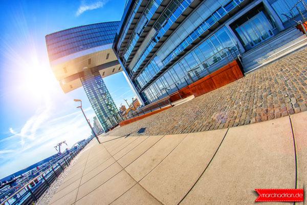 Kranhäuser, Rheinauhafen Köln marcin adrian, marcinadrian, magdalena adrian, cologne kölncity koln #Kranhäuser #Rheinauhafen #Köln #instagram #eyeem #fisheye #8mm #cityscape #cityscapes #officebuilding #glassarchitecture #canon #colorstreetphotography