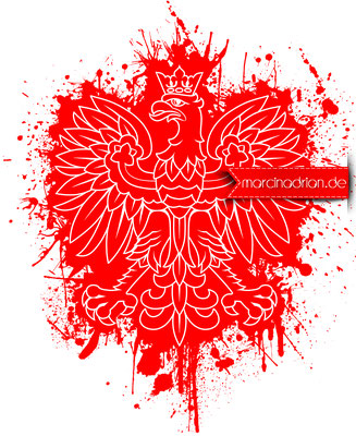 Polski herb Orzeł Biały starwarsgrafik, Illustration, starwarsillustration, Grafiker, art, Marcin Adrian marcinadrian