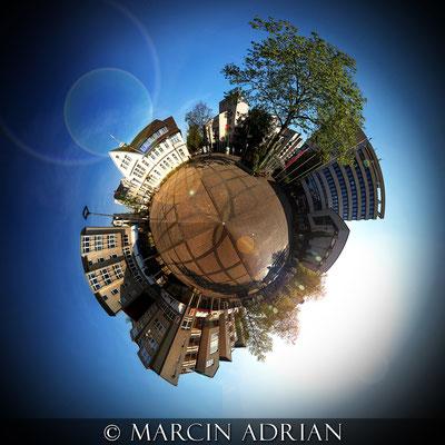 ©, Marcin Adrian, Rathausplatz, Wesseling