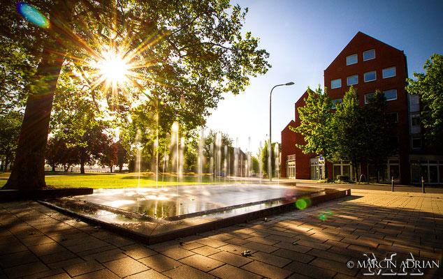 ©, Marcin Adrian, Rheinpark, Springbrunnen, Wesseling