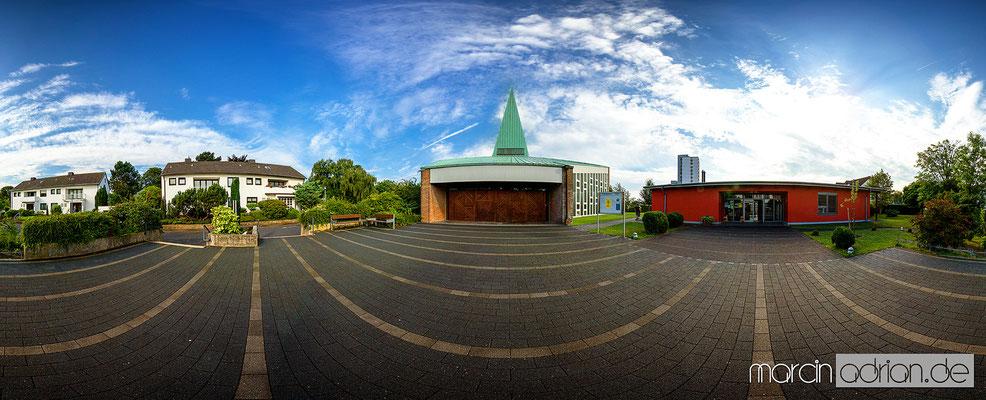 © Marcin Adrian, Wesseling, Stadt Wesseling, Apostelkirche in Wesseling