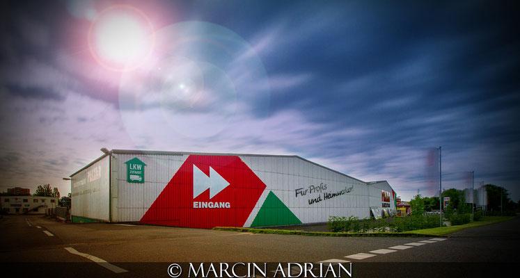 ©, Marcin Adrian, Pelzer Bauzentrum, Wesseling