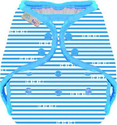 maillot couche Marinière bleue