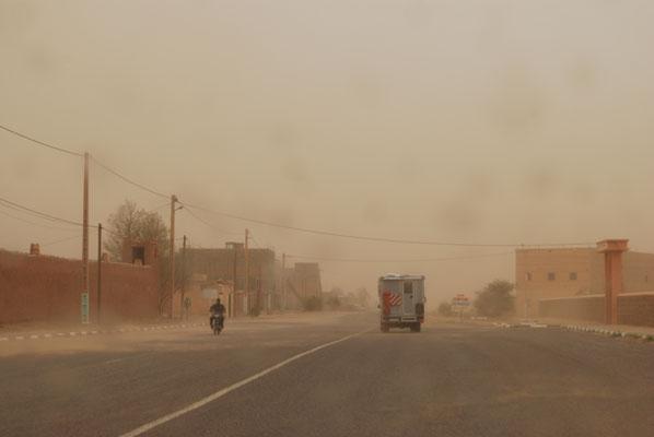 Sandsturm kommt auf