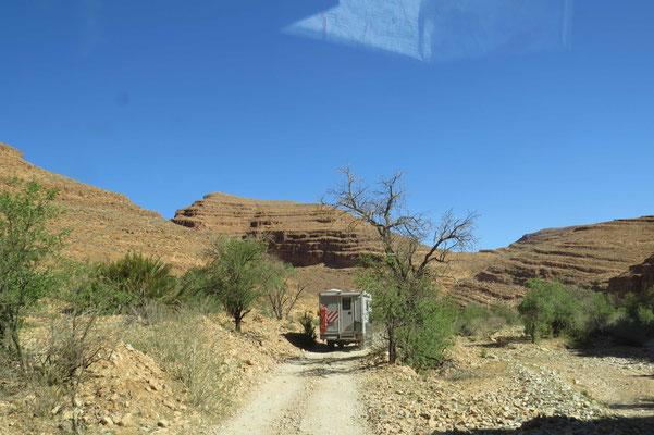 Fahrt durchs Tal