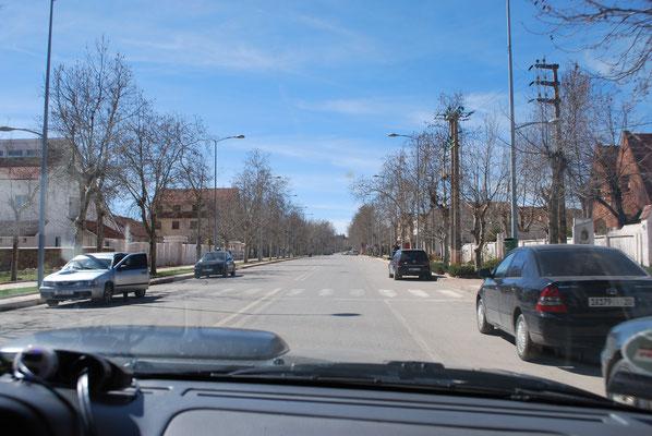 Ifrane: Wintersport-Ort in eurpäischem Stil