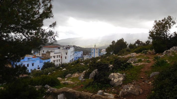 ...in Chefchaouen