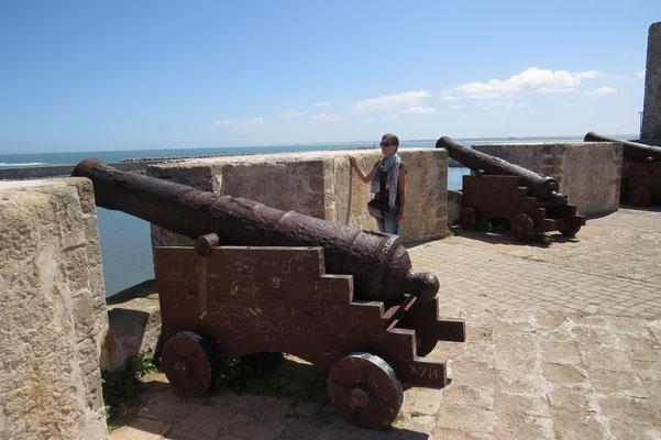 Bastion am Hafen
