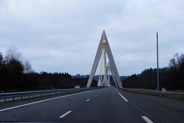 Frankreichs leere Autobahnen
