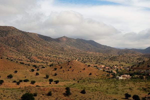 Blick von oben ins Tal der Ammeln