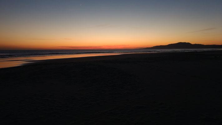 Wieder mal pünktlich zum Sonnenuntergang in Tarifa