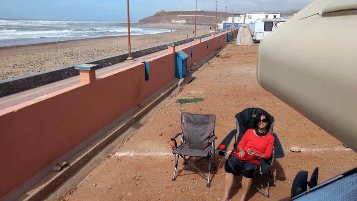 Campingplatz am Strand