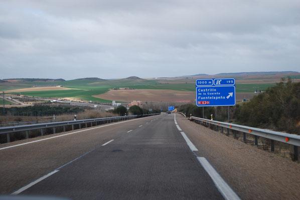 Noch leerere Autobahnen in Spanien