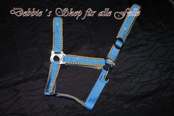 Farbe: baby blue mit honey comb