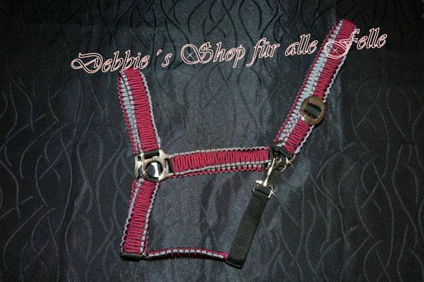 Farbe: burgundy mit silver diamonds