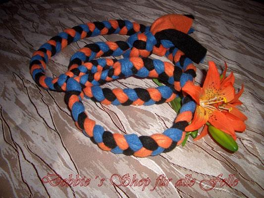 orange / mittelblau / schwarz
