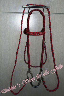 Reittrense Gitano * Farbe: imperial red & silver diamonds