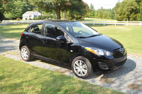 Unser super Rental Car: Mazda 2 ;)
