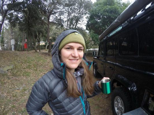 Einblick in unser Campingleben: Es ist nicht immer warm