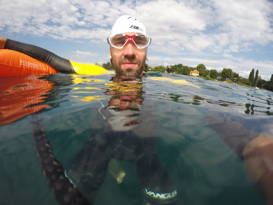 Open Water Training im Genfersee