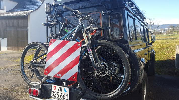 Mountainbikes Laden