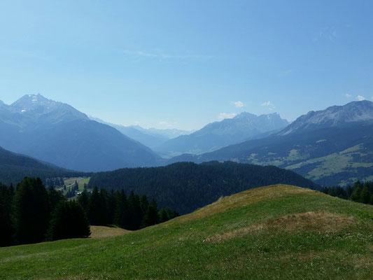 Sonntag: Trailrun auf die Alp Fops