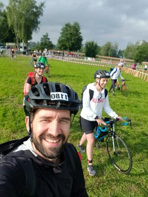 Dieses Jahr mit am Start war Corry's Freundin Anita. Sie hat damals Corry beim ersten Triathlon hier in  Uster begleitet.