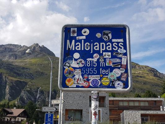 Radtour Malojapass