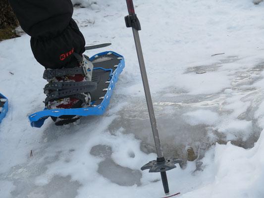 Der Runderweg auf den Schneeschuhe