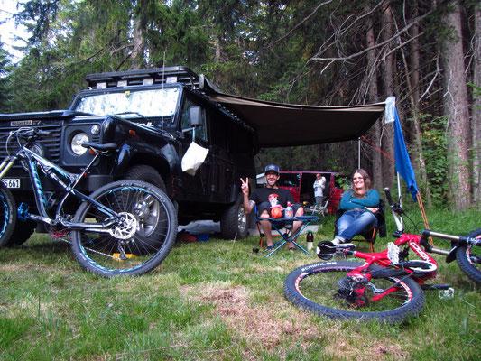 Ab abend fix und foxi zurück auf dem Camping