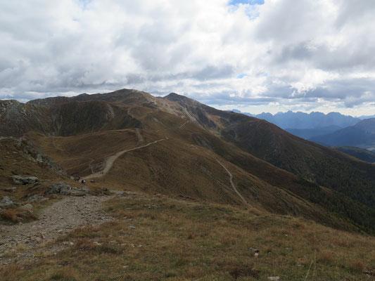 Aussicht vom Gipfel Helm