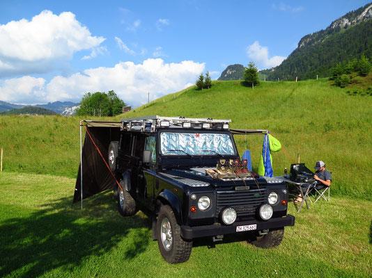 Genialer Camping