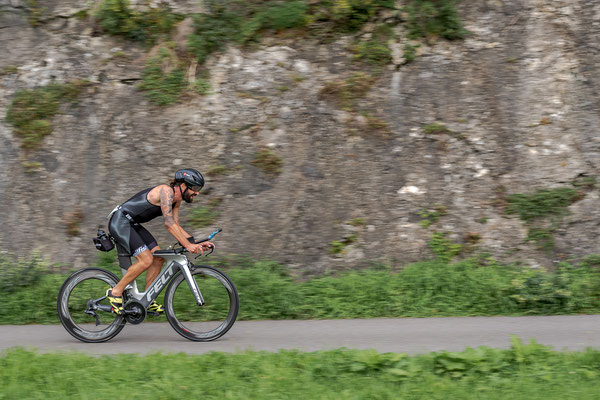 20km auf dem Bike