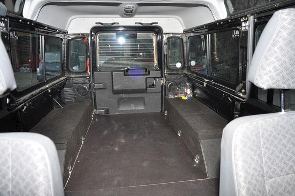 Land Rover Defender Usa >> INNENAUSBAU LAND ROVER DEFENDER - immer-unterwegs
