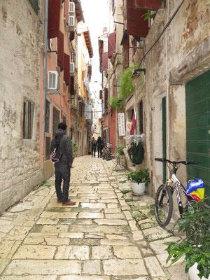 Stadterkundung in Rovinj