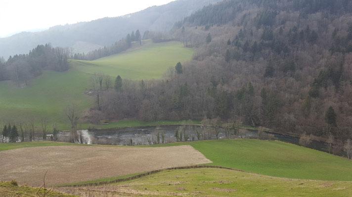 Doubs Fluss