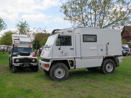 Fahrzeuge des www.nichtswieweg.ch Team