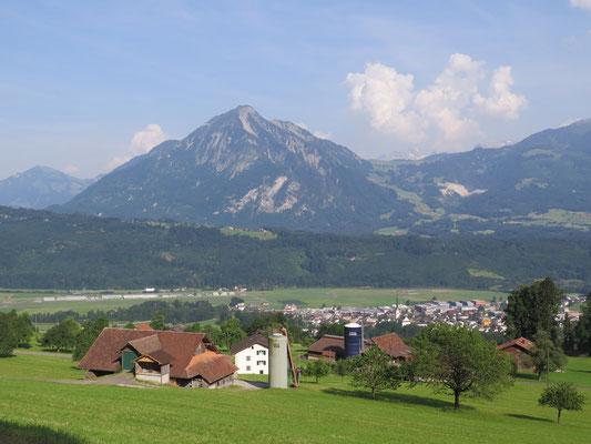 Sicht aufs Stanserhorn